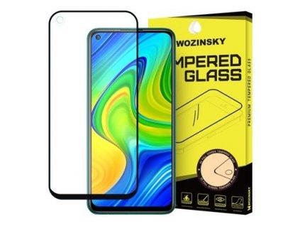 pol ps Wozinsky super wytrzymale szklo hartowane Full Glue na caly ekran z ramka Case Friendly Xiaomi Redmi 10X 4G Xiaomi Redmi Note 9 czarny 60695 1