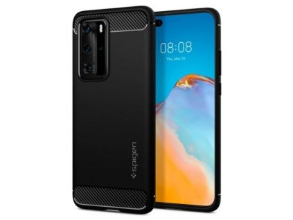 pol ps Spigen Rugged Armor Huawei P40 Pro Black 60854 1