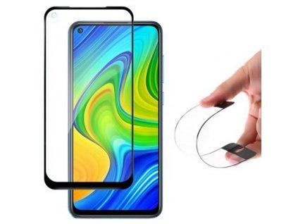 pol ps Wozinsky Full Cover Flexi Nano folia szklana szklo hartowane z ramka Xiaomi Redmi 10X 4G Xiaomi Redmi Note 9 czarny 61050 1