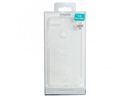 Pouzdro / kryt pro Xiaomi Mi A1 - Mercury, Jelly, průhledný