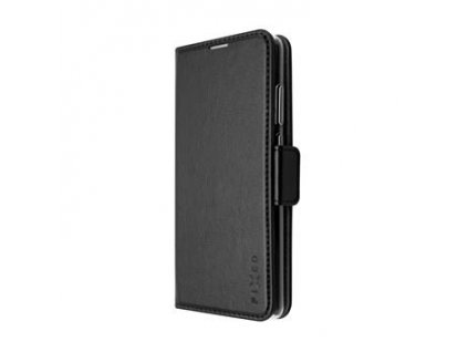 Huawei P40 Lite 5G, pouzdro typu kniha FIXED Opus New Edition, černé