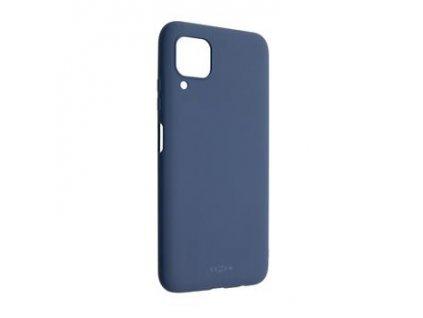 Huawei P40 Lite, zadní pogumovaný kryt FIXED Story, modrý