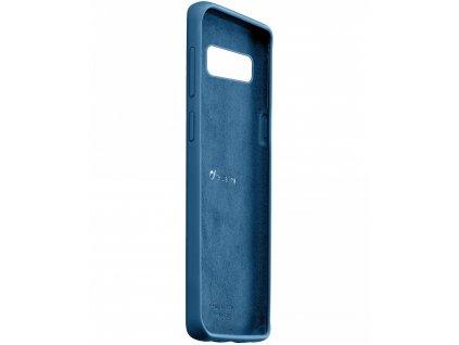 Samsung Galaxy S10, ochranný silikonový kryt CellularLine SENSATION, modré