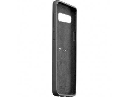 Samsung Galaxy S10, ochranný silikonový kryt CellularLine SENSATION, černý