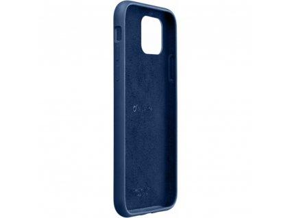 Apple iPhone 11 Pro, ochranný silikonový kryt CellularLine SENSATION, modré