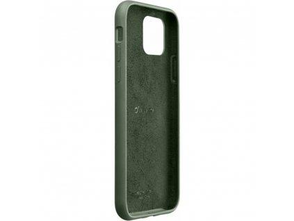 Apple iPhone 11 Pro, ochranný silikonový kryt CellularLine SENSATION, zelený