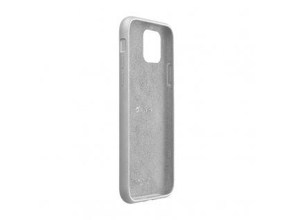 Apple iPhone 11 Pro, ochranný silikonový kryt CellularLine SENSATION, šedý