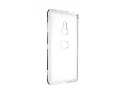 Ultratenké TPU gelové pouzdro FIXED Skin pro Sony Xperia XZ3, 0,6 mm, čiré