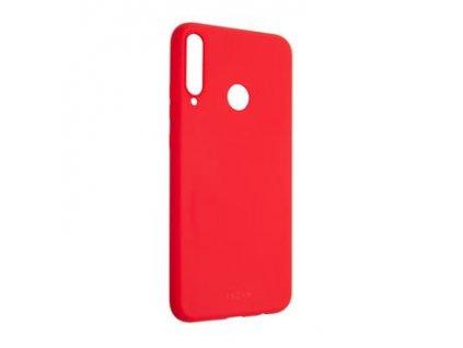 FIXED Story pro Huawei P40 Lite e, zadní pogumovaný kryt, červený