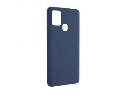 Zadní pogumovaný kryt FIXED Story pro Samsung Galaxy A21s, modrý