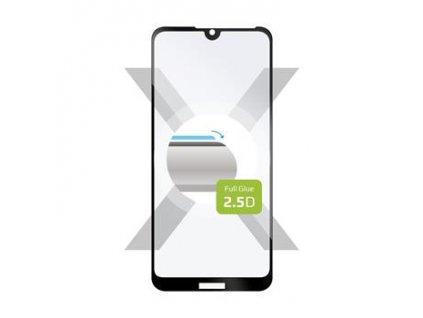 Ochranné tvrzené sklo FIXED Full-Cover pro Huawei Y5 (2019), lepení přes celý displej, černé