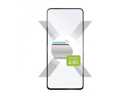Ochranné tvrzené sklo FIXED Full-Cover pro Xiaomi Redmi Note 9 Pro 5G, lepení přes celý displej, černé