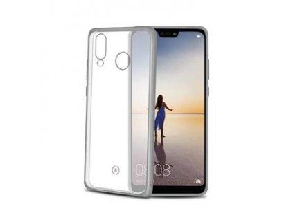 CELLY pouzdro pro Huawei P20 Lite, stříbrné