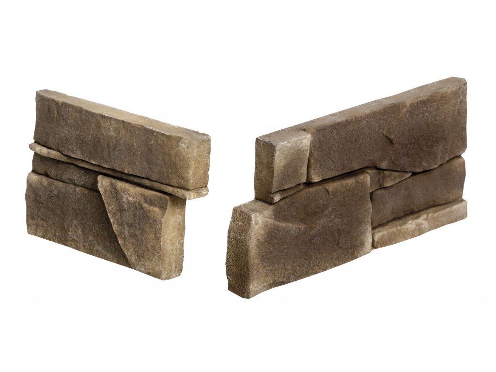 Rohový obklad Incana Montana Copper plus