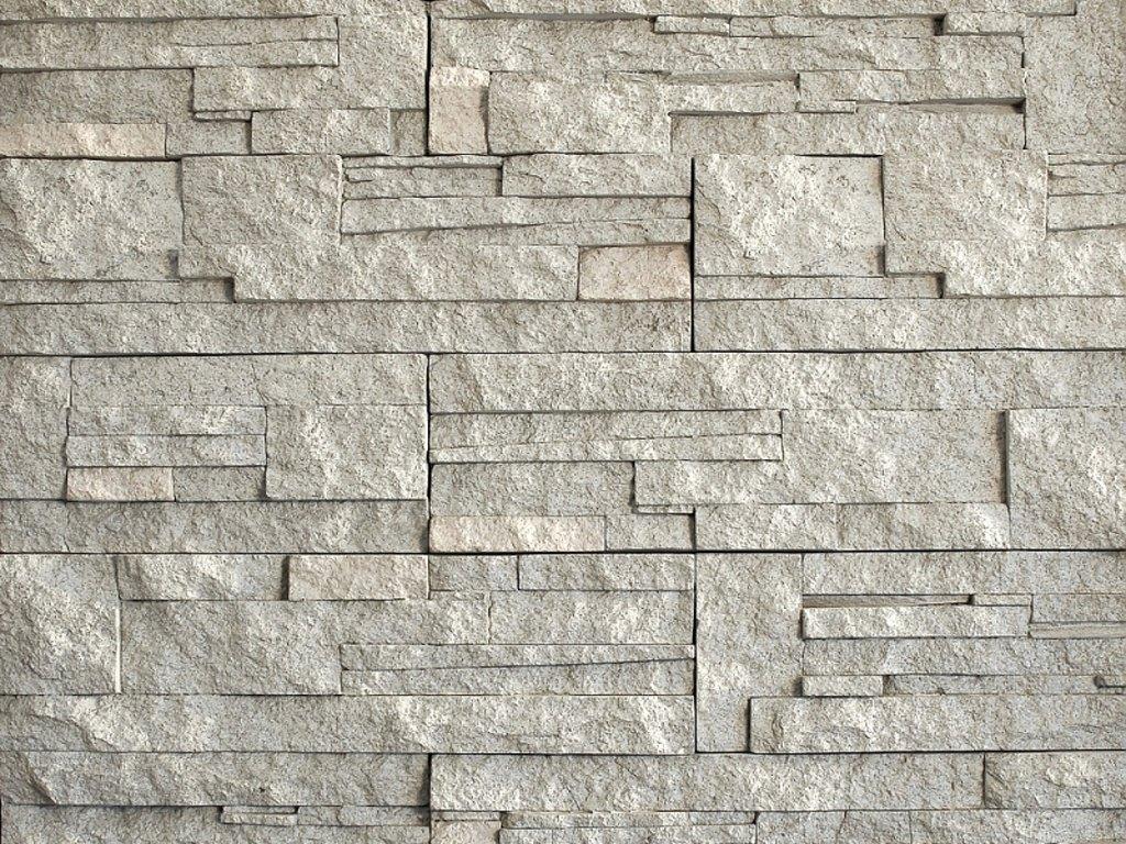 Kámen lámaný VASPO bílo-šedý