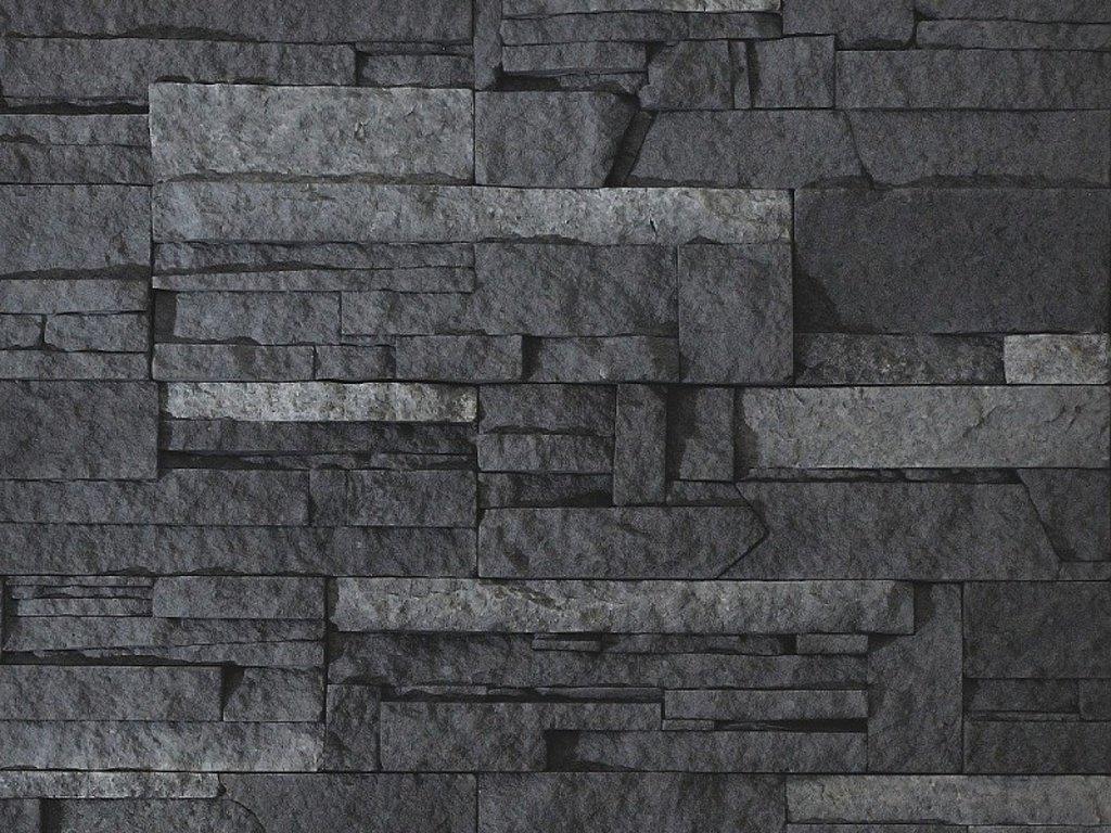 Kámen lámaný VASPO tmavo-šedý