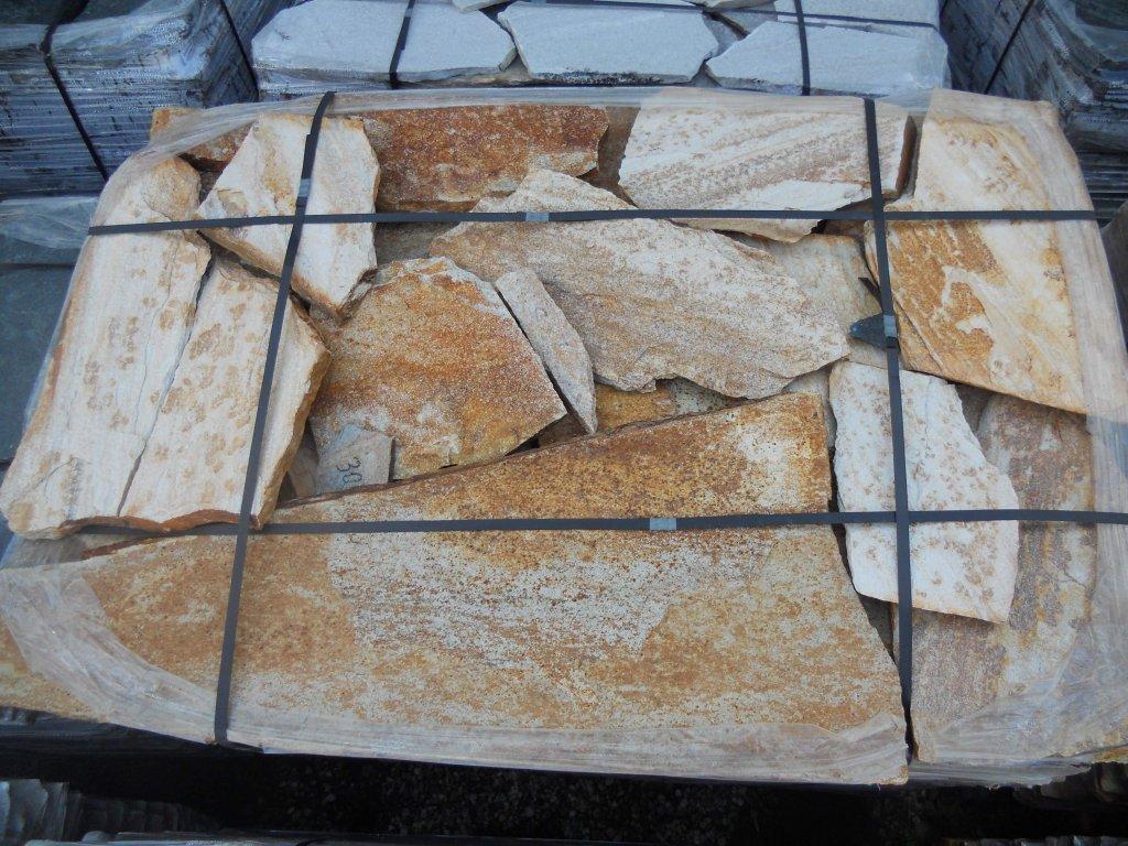 Balkánská rula Vipstone zrzavo-hnědá 1,5-3 cm