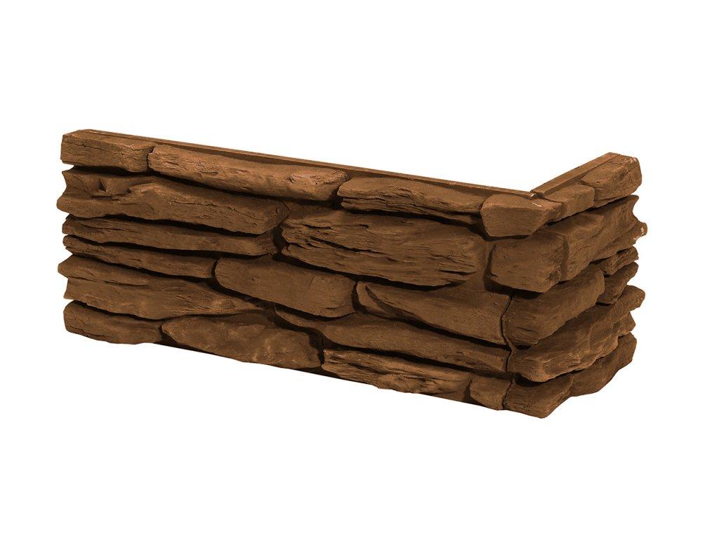 Betonový roh STEGU California 3 - mocca