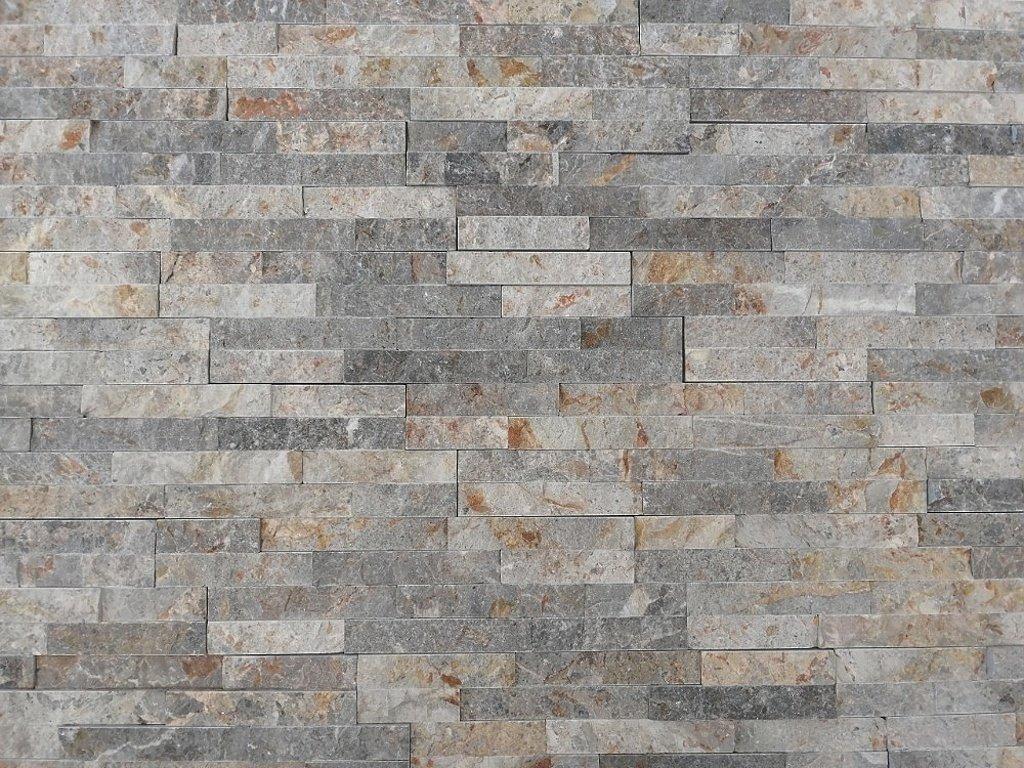 Kamenný obklad Vipstone kvarcit šedo žíhaný