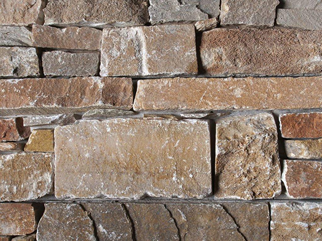 Přírodní kámen WALLSTONE Q025 Quartzite Yellow na síťce