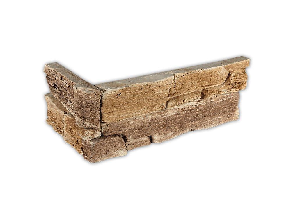 Betonový roh VASPO Břidlice Hradní béžovo-hnědá