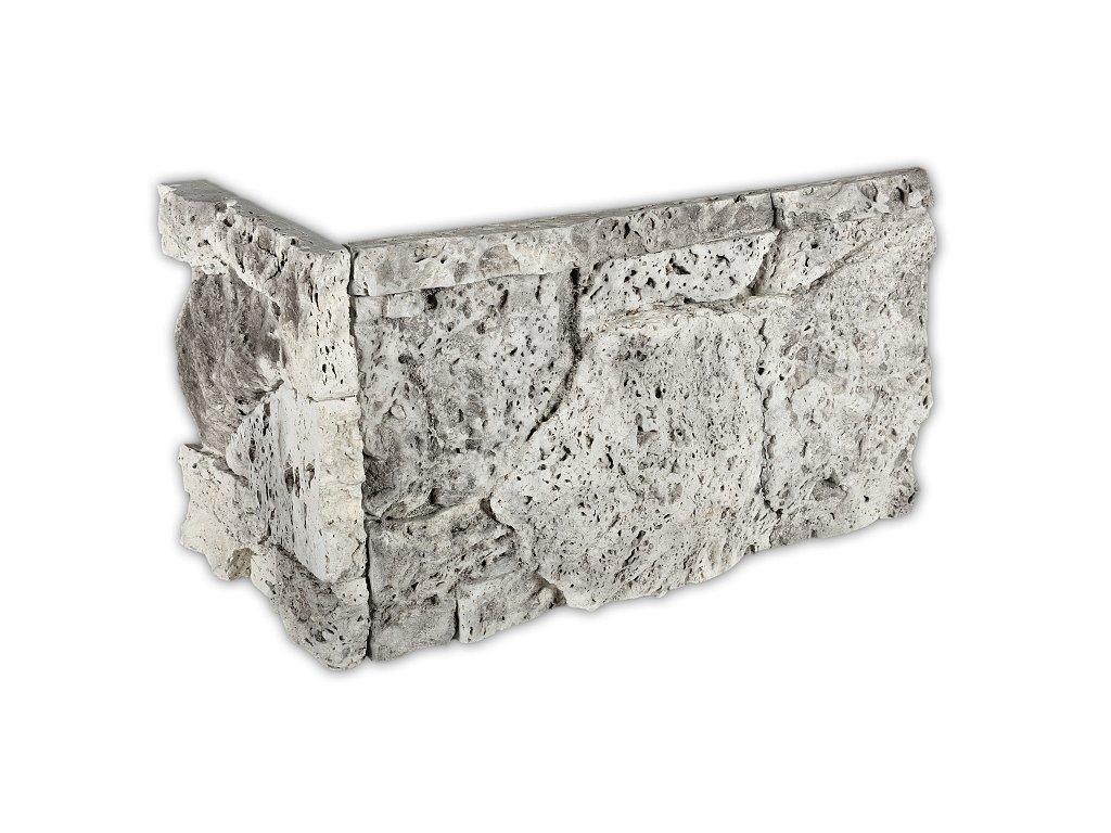 Betonový roh VASPO Travertin zvětraný