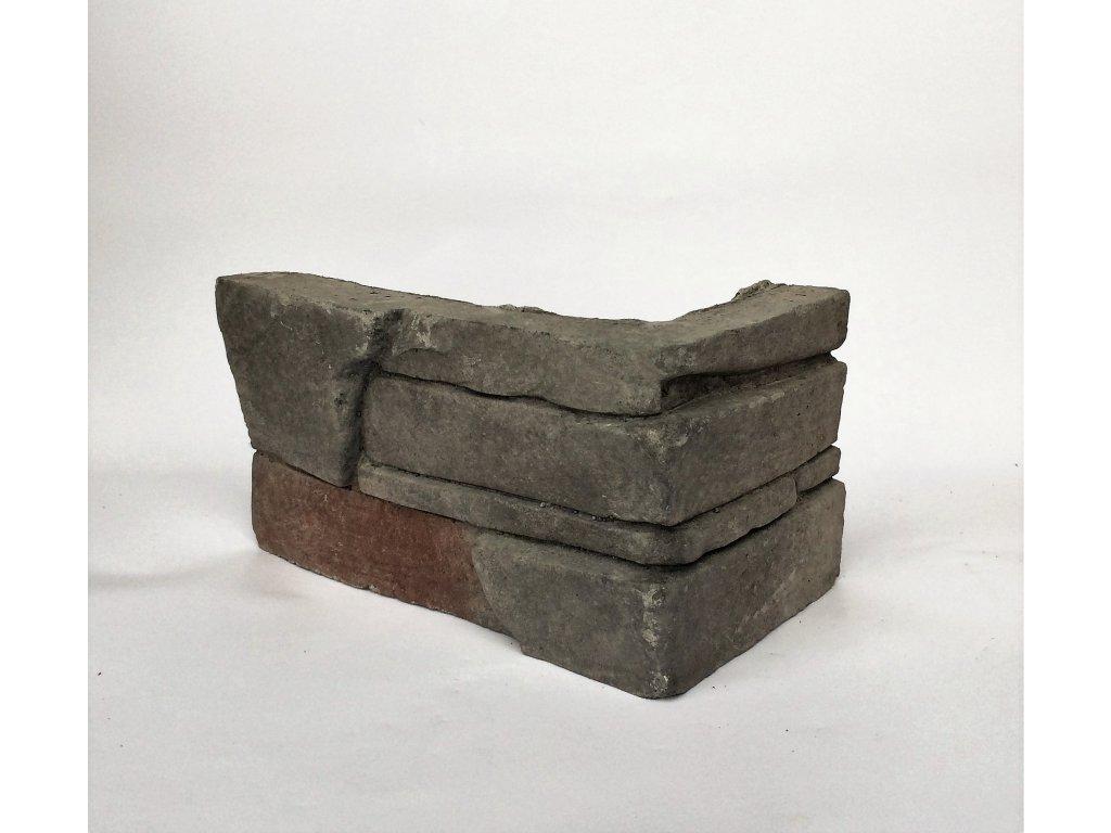 Kamenný roh WILDSTONE Slanec Basalt