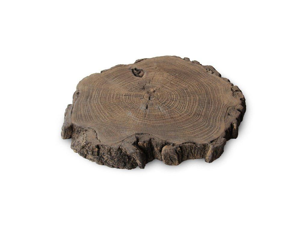 Betonový zahradní nášlap imitace dřeva