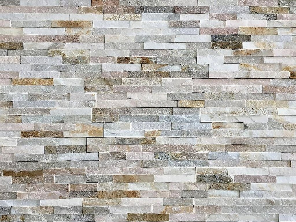Kamenný obklad Vipstone kvarcit světle béžový
