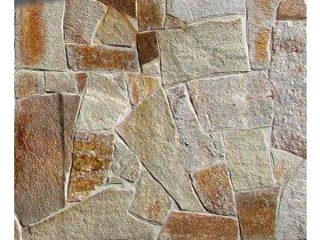 Balkánská rula Vipstone zlatohnědá 1-2 cm - obklad