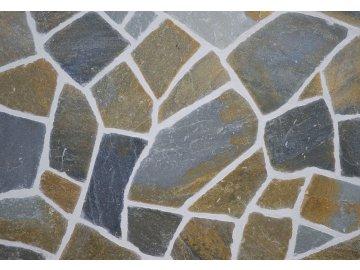 Kamenná dlažba Vipstone kvarcit multicolor 2 3 cm