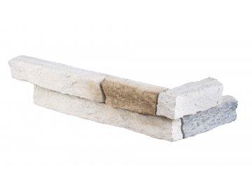 Betonový roh STEGU Sierra 1 - white