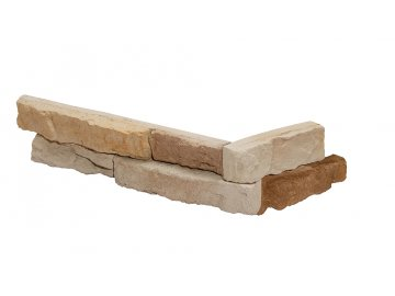 Betonový roh STEGU Sierra 2 - beige