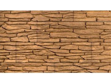 Betonový obklad STEGU California 3 - mocca