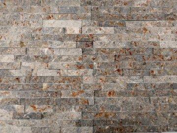 Kamenný obklad Vipstone kvarcit šedo-zrzavý
