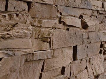 Betonový obklad LUMINTA Bastida hnědá