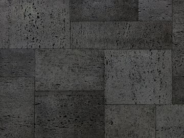 Betonový obklad VASPO Travertin Římský černý