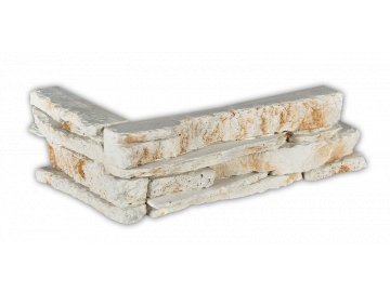 Betonový roh VASPO Kámen Považan bílý