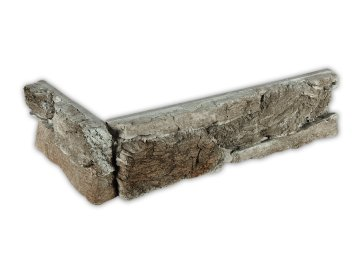 Betonový roh VASPO Skála zvrásněná zelený melír