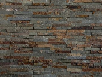 Kamenný obklad Vipstone břidlice multicolor - tenký pásek