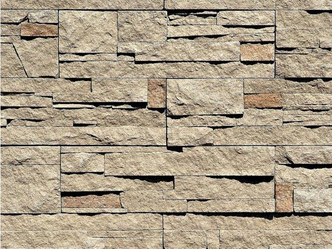 Kámen lámaný VASPO hnědo-šedý