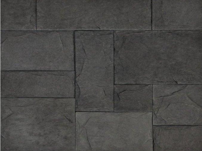 VASPO Břidlice Štípaná tmavě šedá