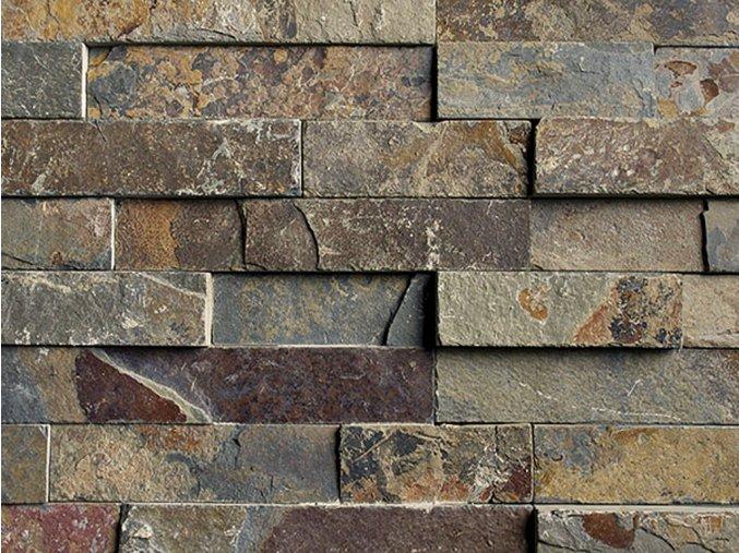 Přírodní kámen WALLSTONE N 3002 Rusty Slate lepený