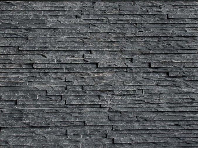WALLSTONE N3003 Black Slate – tenký pásek lepený