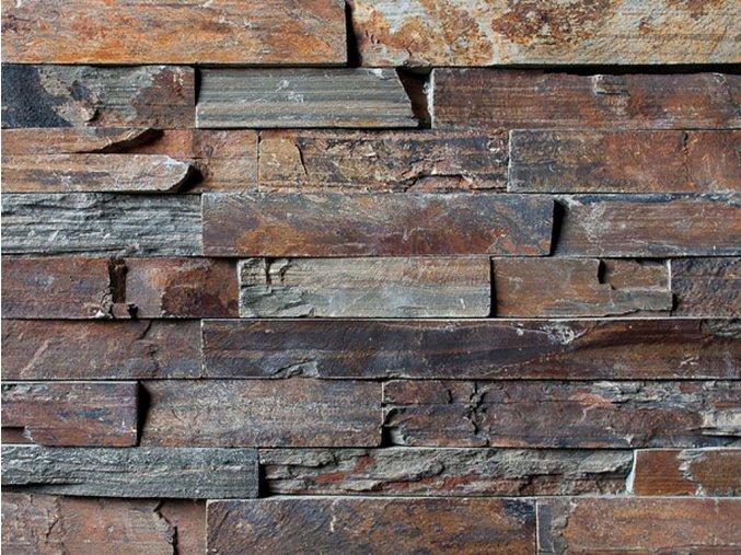 Přírodní kámen WALLSTONE N 3002 Rusty Slate Rustical