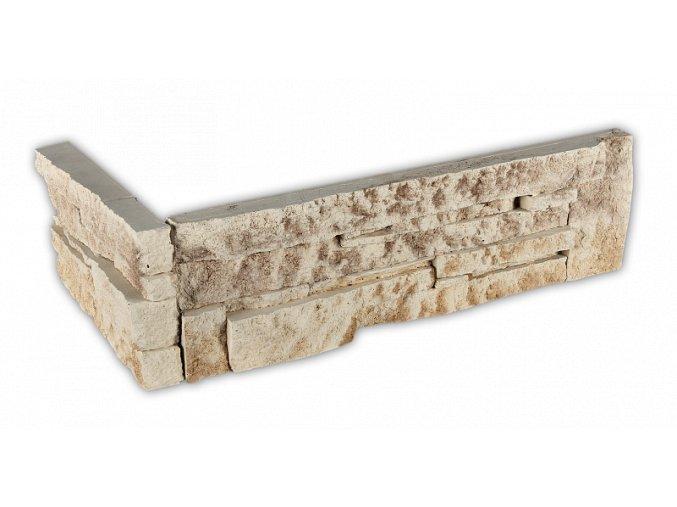 Betonový roh VASPO Kámen lámaný béžovohnědý