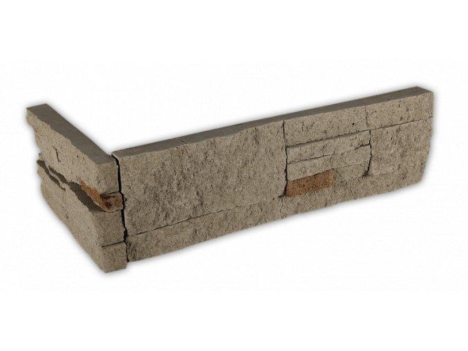 Betonový roh VASPO Kámen lámaný hnědo-šedý