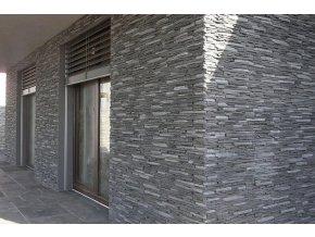 Betonový obklad VASPO Považan černý
