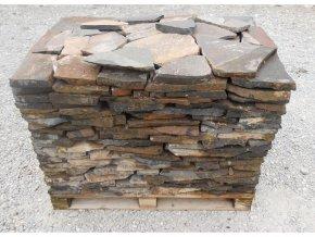 Přírodní kamenná dlažba Vipstone andezit šedohnědá 2-4 cm