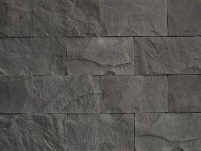 Betonový obklad VASPO Břidlice Standard tmavě šedá